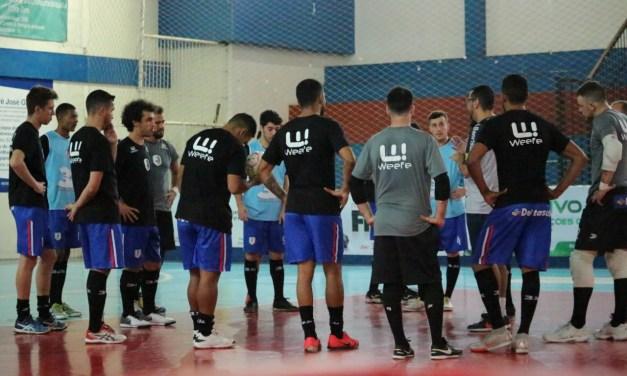 Seleção Gaúcha de futsal se apresenta para Campeonato Brasileiro de Seleções LIGA
