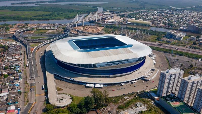Secretaria do Esporte irá sortear 1.800 ingressos para Copa América na Arena