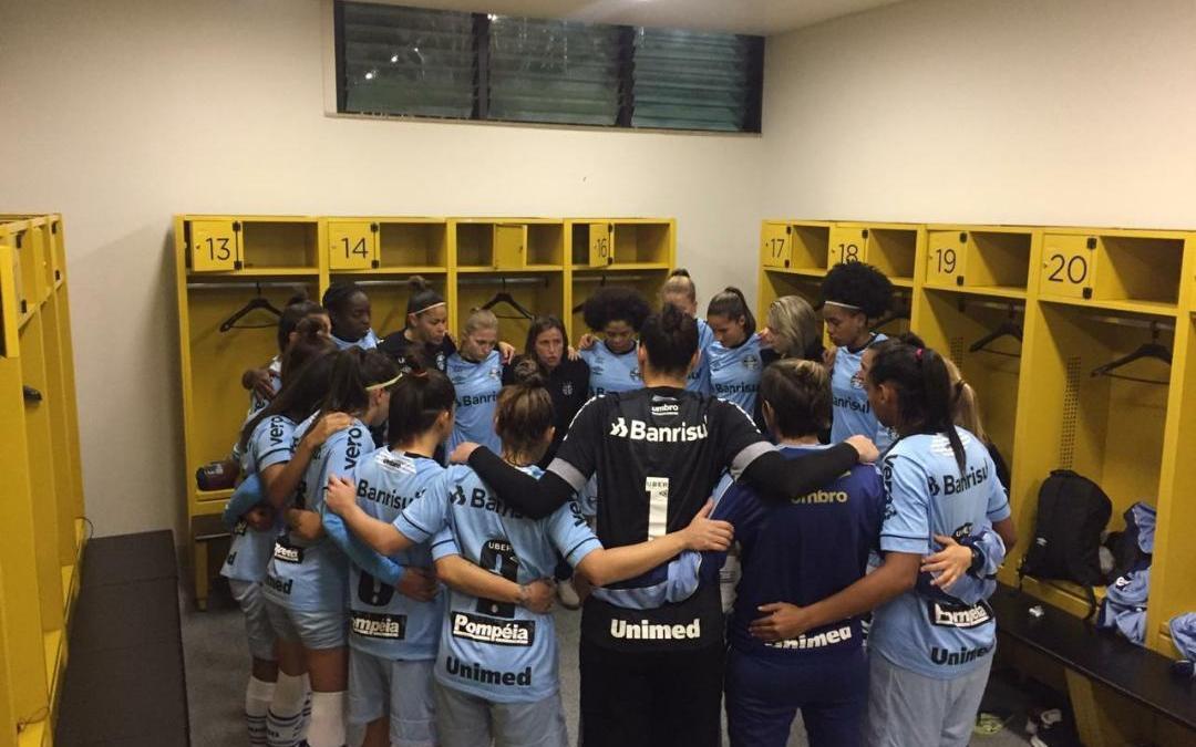 Feminino do Grêmio fica a 90 minutos do acesso