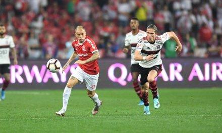 Inter empata com Flamengo e dá adeus à Libertadores
