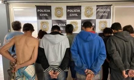 Treze pessoas são presas por tráfico em São Luiz Gonzaga