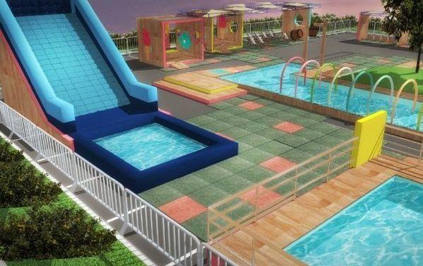 Iguatemi Porto Alegre instala parque aquático com entrada gratuita