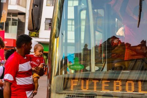 Trânsito e Transporte para Inter x Universidad de Chile na terça