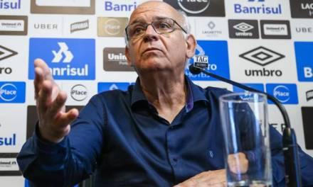 Presidente do Grêmio é diagnosticado com coronavírus