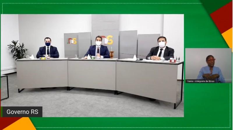 Governador Eduardo Leite anuncia plano de reposição de servidores