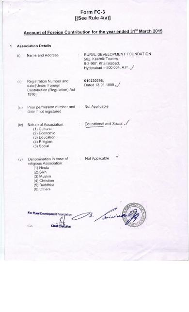 FCRA - Page 1