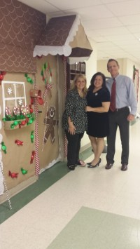 door decorating contest winners get in the holiday spirit ...