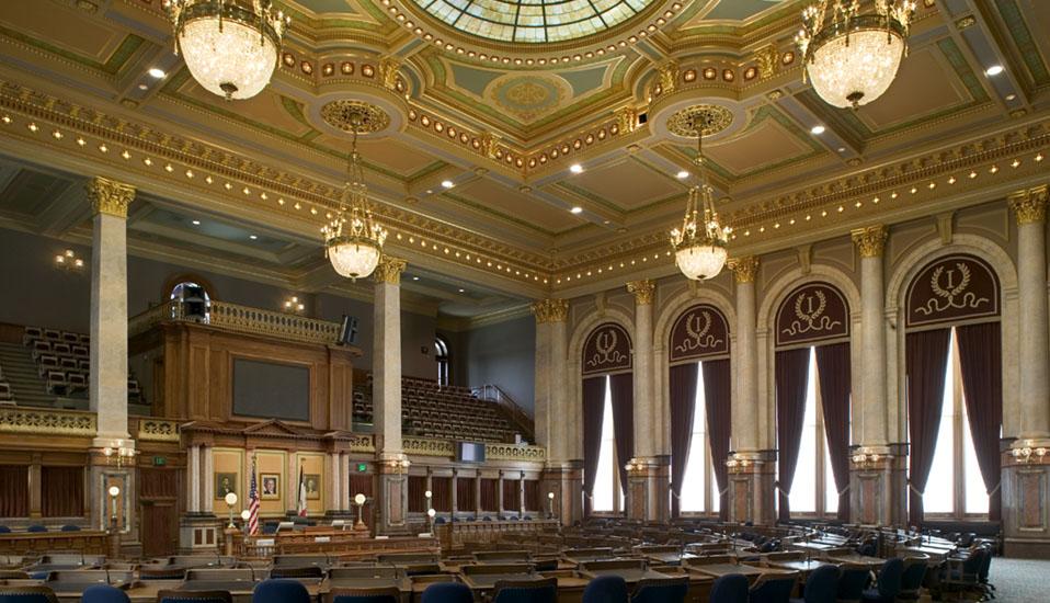 Iowa State Capitol Interior Rehabilitation and Restoration  RDG Planning  Design