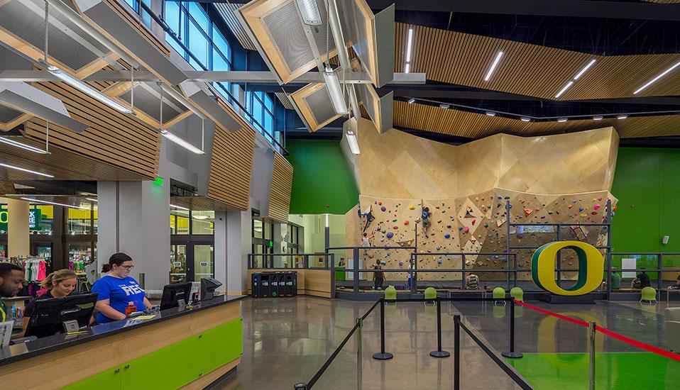 University of Oregon Student Recreation Center Expansion