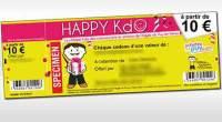 Faire plaisir à ses proches avec un chèque Kdo