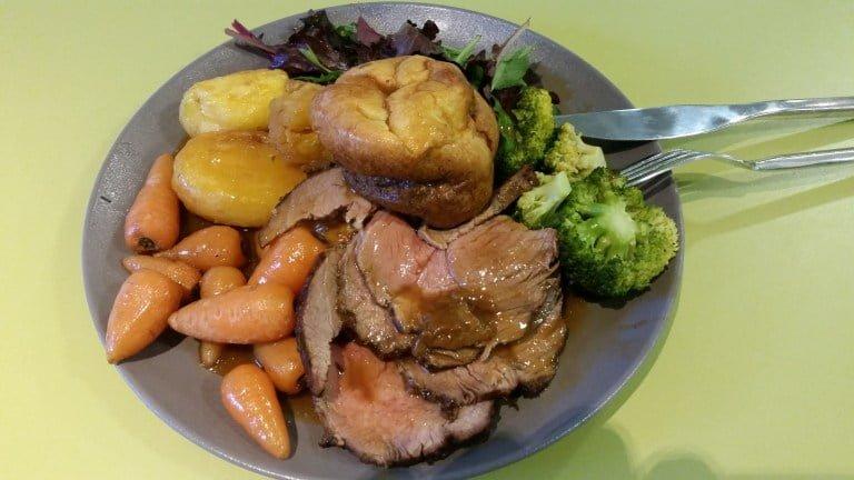 Worst Roast Dinners - London Business School, Baker Street