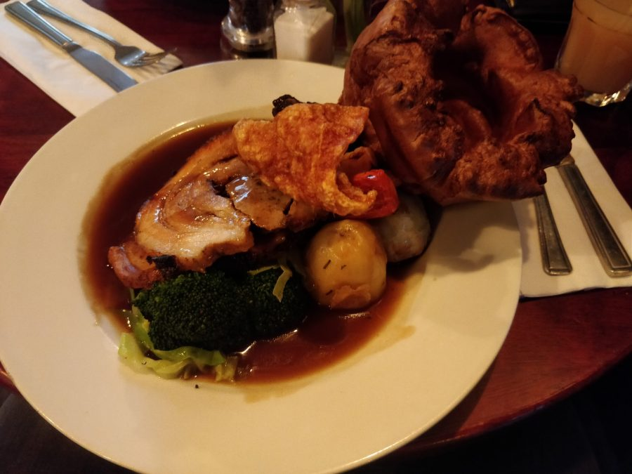 Roast Dinner at The Herne Tavern
