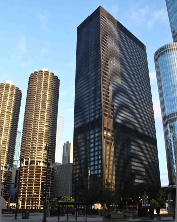 The IBM Building by Mies van der Rohe