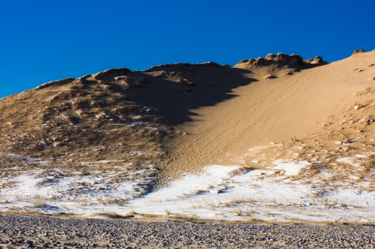The north end of Sleeping Bear Dune.