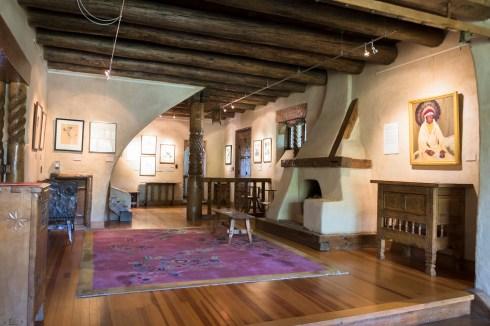 Fechin House woodwork-8428
