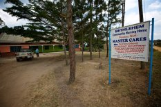 The medical clinic that The Master Cares Foundation partners with.