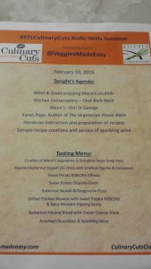 Check out this awesome menu!
