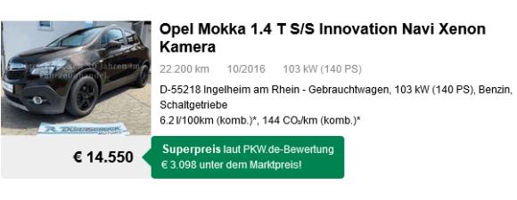 Opel Mokka 1.4 T S/S
