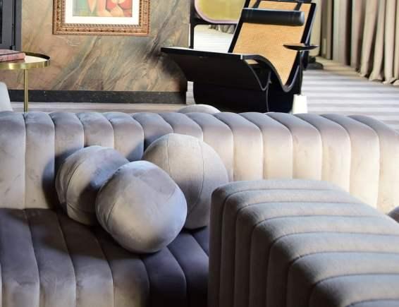 sofa Alta costura e versatilidade em estofaria na Mostra EliteDesign 2019