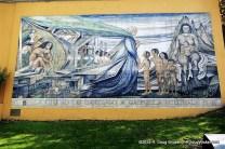 Tiled Mural near Santa Lucía Hill