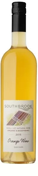 Small Lot Natural wine Orange Wine 2015 - Southbrook