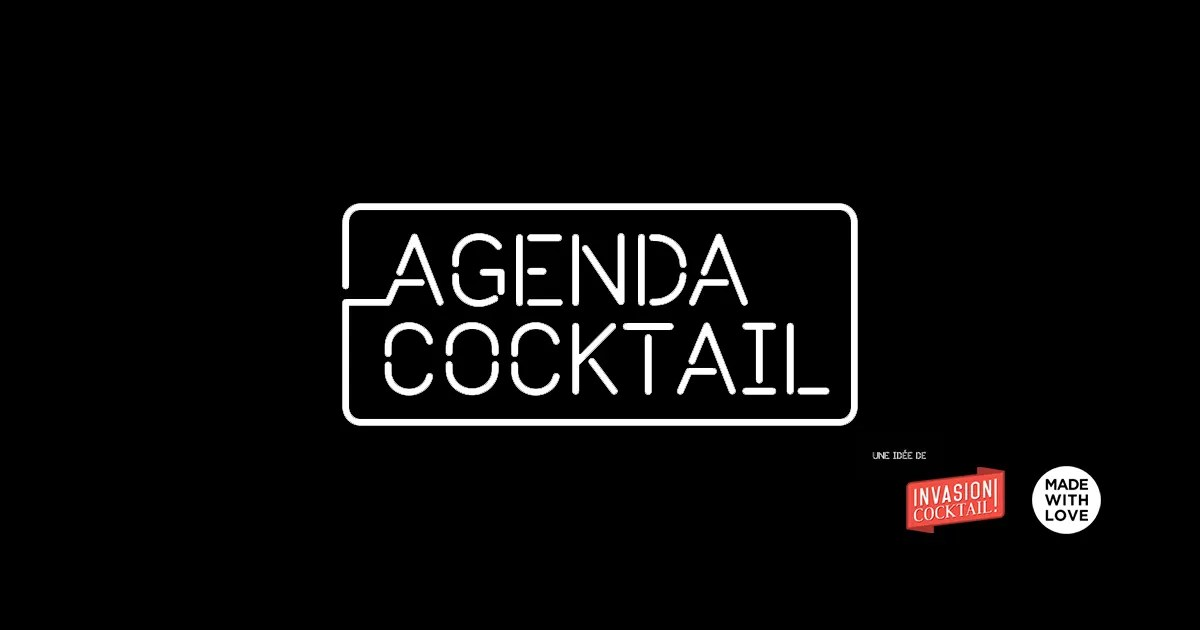 Agenda Cocktail Event Calendar