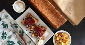 Baileys French Toast with Automne Boulangerie Pullman Bread