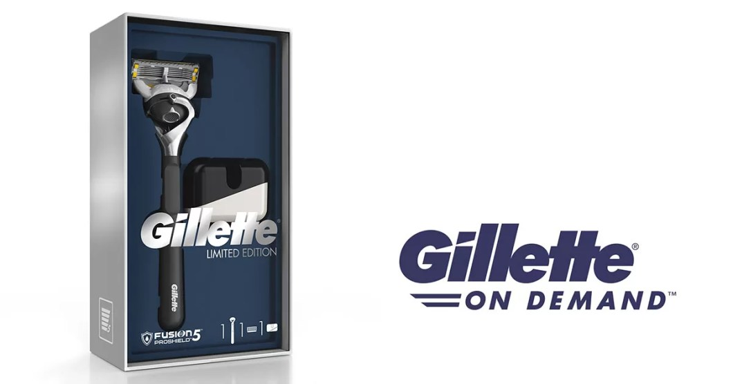 Service Gillette On Demand - Edition Limitee
