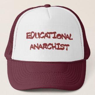 educational anarchist hat hat