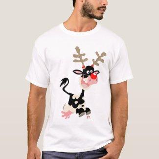 Christmas Reindeer counterfeit T-shirt shirt
