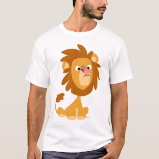 Silly Lion! cartoon toddler T-shirt shirt