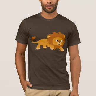Smart Cartoon Lion T-shirt shirt