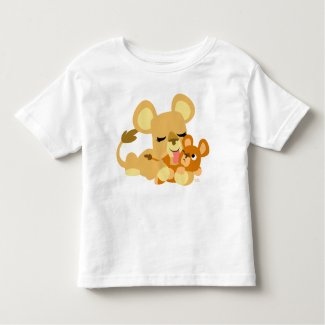 Baby Lion's Bath toddler T-shirt shirt