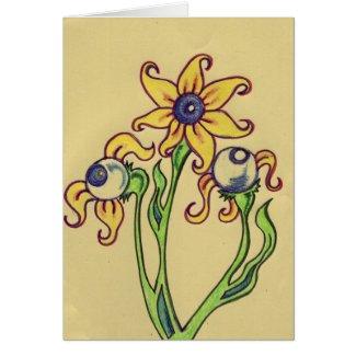 eye ball plant card