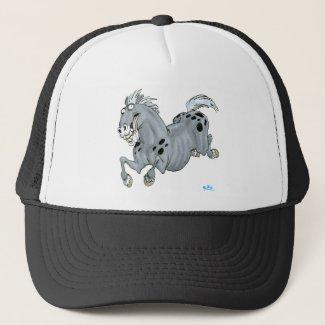 Crazy horse hat hat
