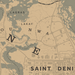 rdr2 map interactive map