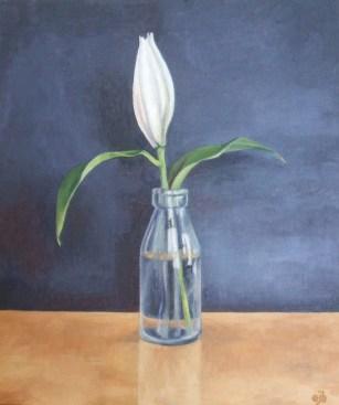 Bottled Lily (30-5x36cm)