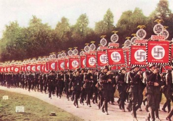Image result for germans marching