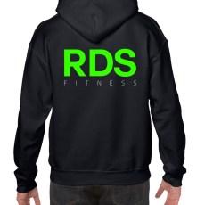 Black RDS Hoodie Back