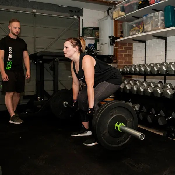 Personal Training Dead lifts