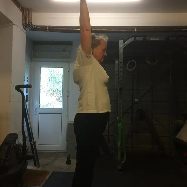 Personal Training Shoulder Press