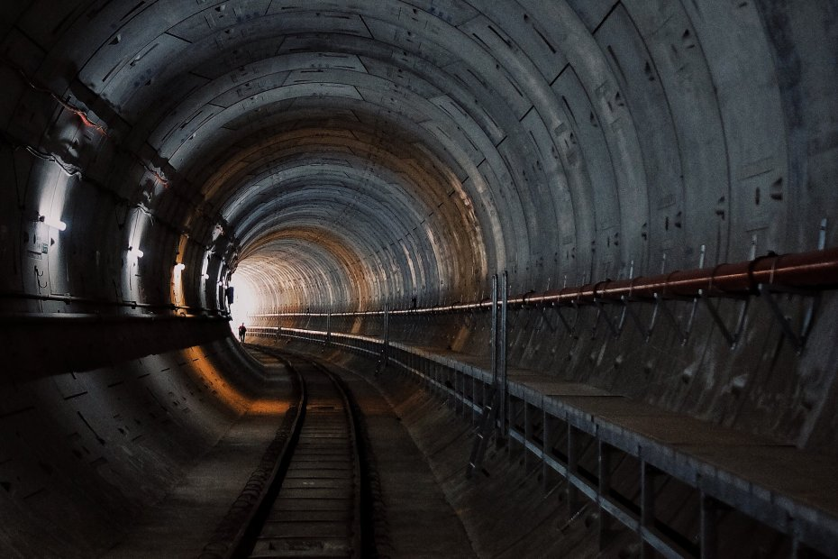 The tunnel to the future looks dim but is something we must go thru. To the future!