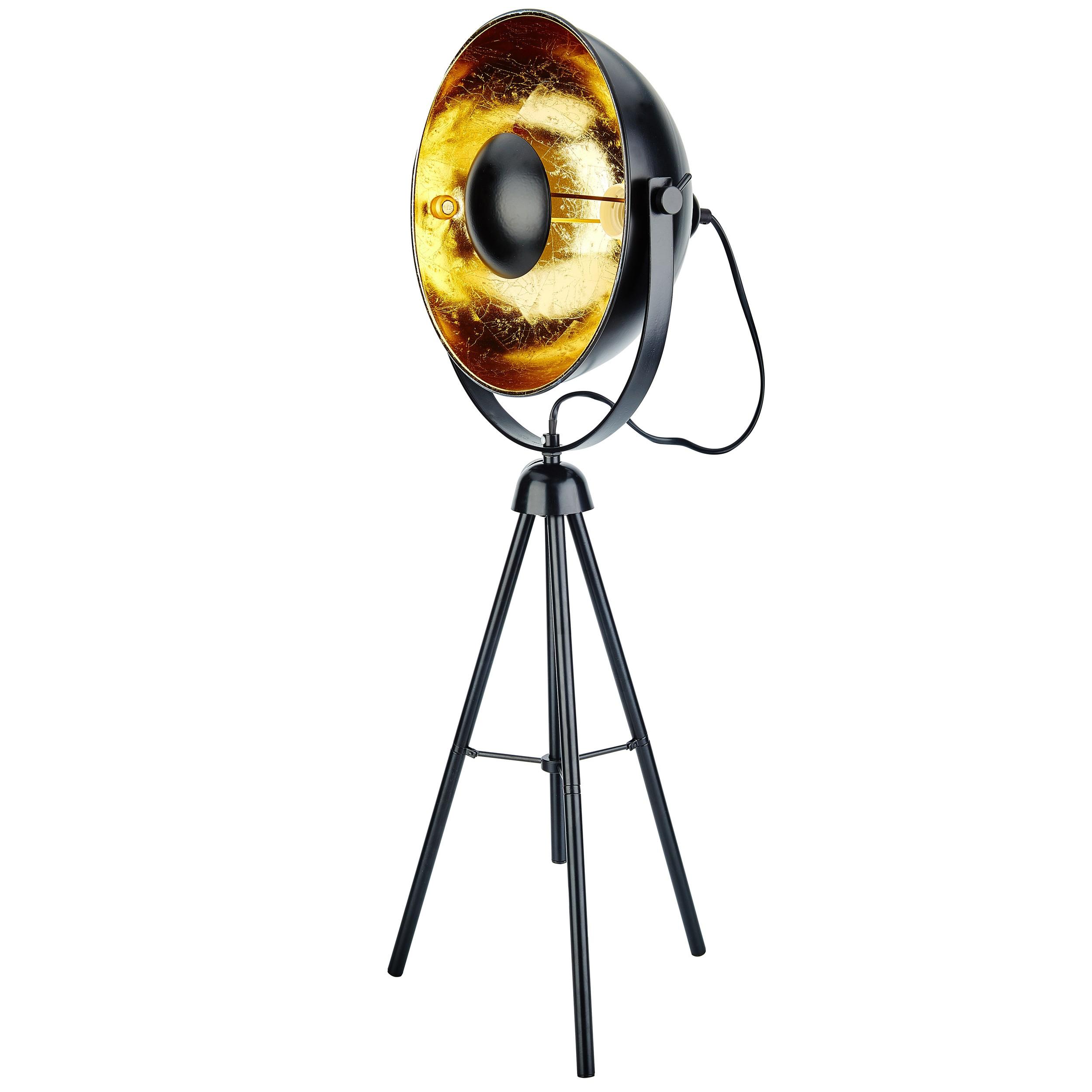 Lampe  poser trpied Roxie noire M  commandez nos lampes