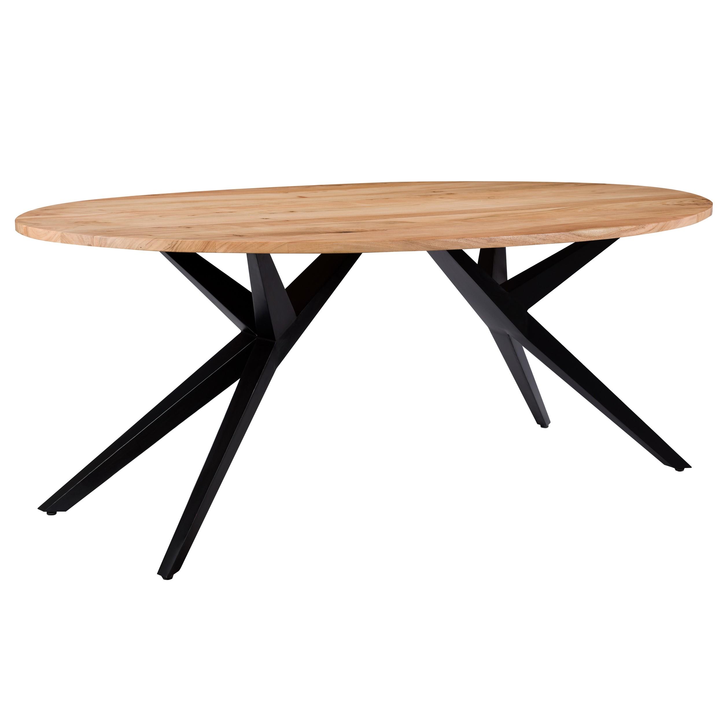 table ovale matara 200 cm en bois
