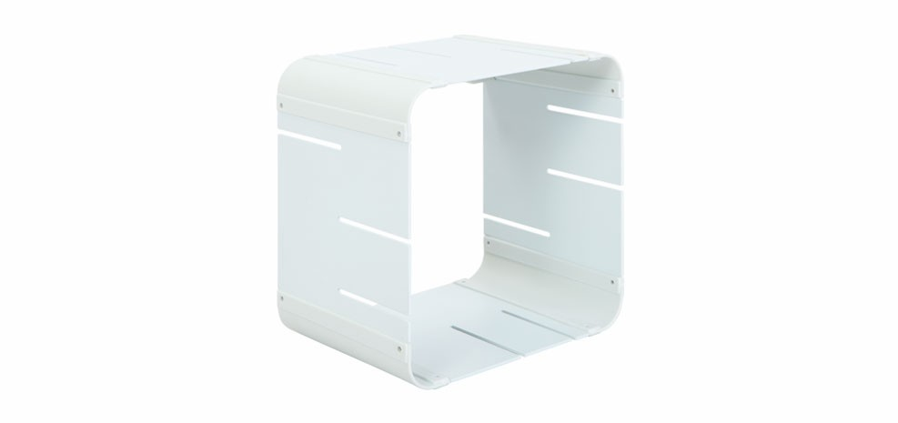 etagere modulable cube blanche