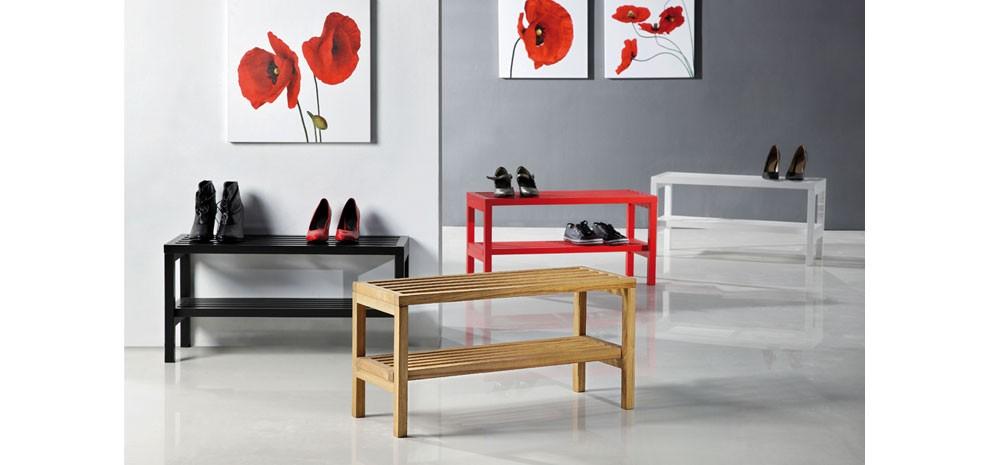meuble a chaussure soulier blanc