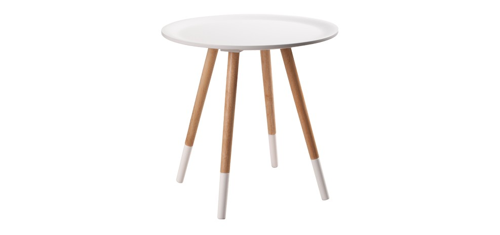 table basse art blanche