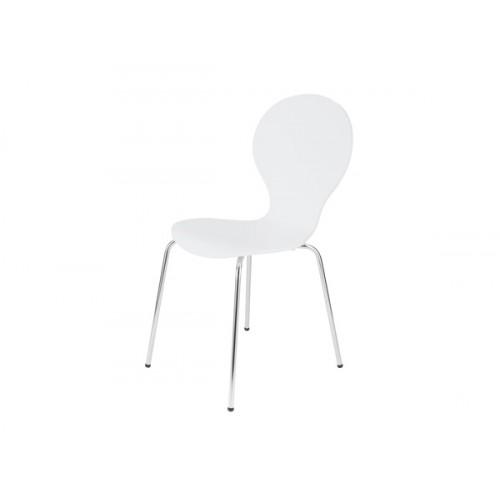 chaise abiel blanche lot de 4