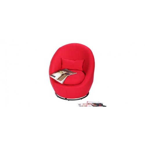 fauteuil circle rouge