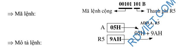 mã lệnh 8051